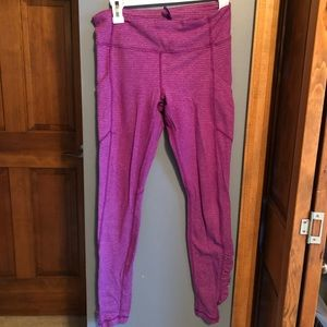 Lululemon running pants